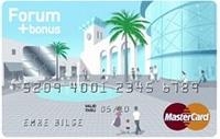 Forum Bonus Card kredi kartı görseli.