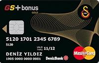 GS Bonus Gold kredi kartı görseli.