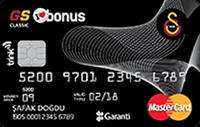 GS Bonus Platinum Card kredi kartı görseli.