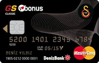 GS Bonus Sultani kredi kartı görseli.