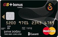 GS Bonus kredi kartı görseli.