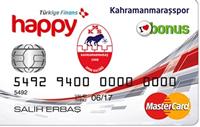 Happy Kahramanmaraşspor kredi kartı görseli.