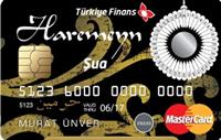 Haremeyn ŞUA kredi kartı görseli.