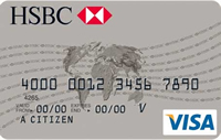 HSBC Advantage kredi kartı görseli.