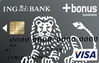 ING Bonus Business Card kredi kartı görseli.