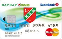 Kaf Kaf Bonus kredi kartı görseli.