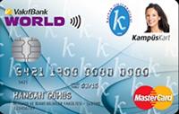 Kafkas Üniversitesi Kampüs Kart kredi kartı görseli.