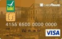 Kalid Gold kredi kartı görseli.