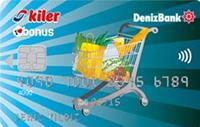 Kiler Bonus kredi kartı görseli.