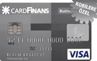 KOBİ CardFinans Business kredi kartı görseli.