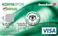 Konyaspor Bonus kredi kartı görseli.