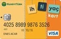 Kuveyt Türk İhtiyaç Kart kredi kartı görseli.