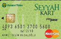 Kuveyt Türk Seyyah Kart kredi kartı görseli.