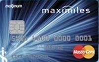 Maximiles kredi kartı görseli.