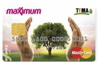 Maximum TEMA Kart kredi kartı görseli.