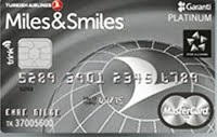 Miles & Smiles Platinum Kredi Kartı Görseli