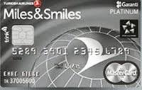 Miles & Smiles kredi kartı görseli.
