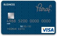 Paraf Business kredi kartı görseli.