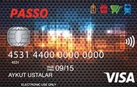 Passo Kart kredi kartı görseli.