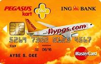 Pegasus Plus Kart kredi kartı görseli.