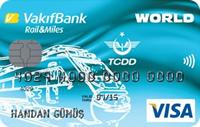 Rail & Miles Kart kredi kartı görseli.