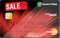 Sale Plus Gold kredi kartı görseli.