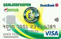 Şanlıurfaspor Bonus kredi kartı görseli.