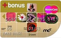 Şeffaf Bonus Plus kredi kartı görseli.