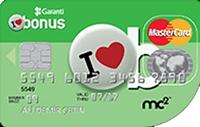 Şeffaf Platinum kredi kartı görseli.