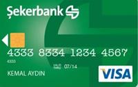 Şeker Kart kredi kartı görseli.