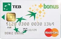 TEB Bonus Card kredi kartı görseli.