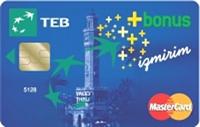 Teb Bonus İzmirim kredi kartı görseli.