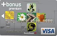 TEB Bonus Premium Card kredi kartı görseli.