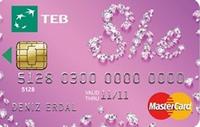 TEB SHE Card kredi kartı görseli.