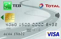 TEB Total Card kredi kartı görseli.