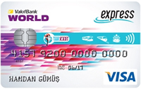 Trabzon Express Kart kredi kartı görseli.