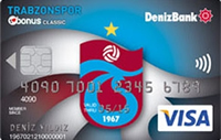 Trabzonspor Bonus Platinum kredi kartı görseli.
