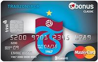 Trabzonspor Bonus kredi kartı görseli.