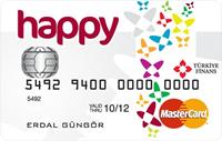 Happy Card kredi kartı görseli.