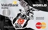 Vakıfbank Beşiktaş Kart kredi kartı görseli.
