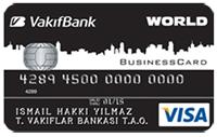 Vakıfbank Business Kart kredi kartı görseli.