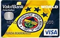 Vakıfbank Fenerbahçe Kart kredi kartı görseli.