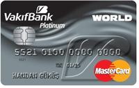 Vakıfbank Platinum Kart kredi kartı görseli.