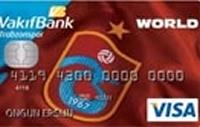 Vakıfbank Trabzonspor Kart kredi kartı görseli.