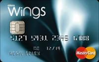 Wings Card kredi kartı görseli.