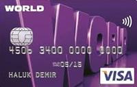 World Eko Kart kredi kartı görseli.