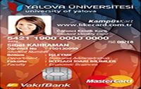 Yalova Üniversitesi Kampüs Kart kredi kartı görseli.