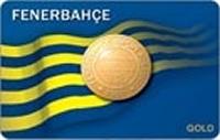 Yapı Kredi Fenerbahçe World Gold kredi kartı görseli.