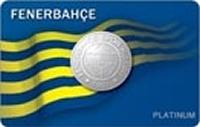 Yapı Kredi Fenerbahçe World Platinum kredi kartı görseli.
