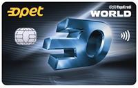 Yapı Kredi Opet Worldcard kredi kartı görseli.